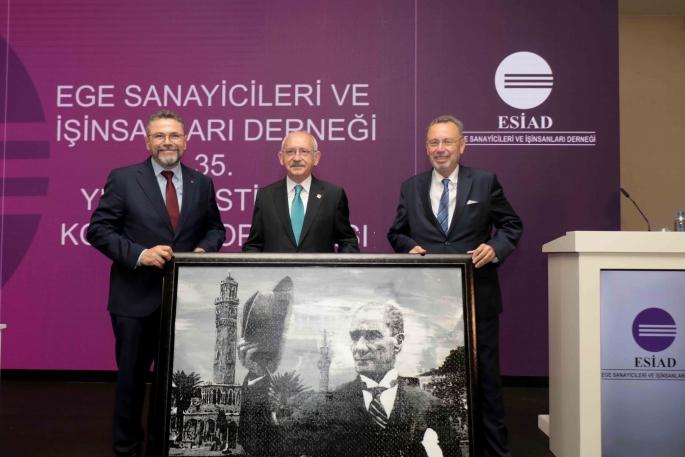 ESİAD Kılıçdaroğlu'nu ağırladı