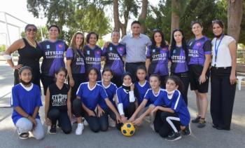 Aliağa'da Sportif Gençlerin Sportif Başkanı