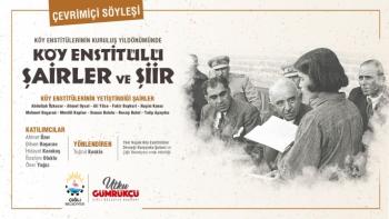Çiğli'de Köy Enstitülerinin 81. Yılı Şiirlerle Kutlandı