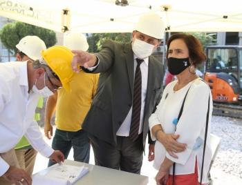 Karşıyaka'da Alzheimer Merkezi'ne İlk Beton