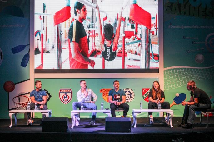 Türkiye'nin sporcuları İzmir'in Fuarı'nda
