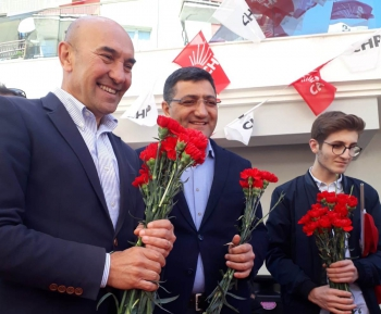 """""""Üreten ve mutlu bir Buca için oylar CHP'ye"""""""