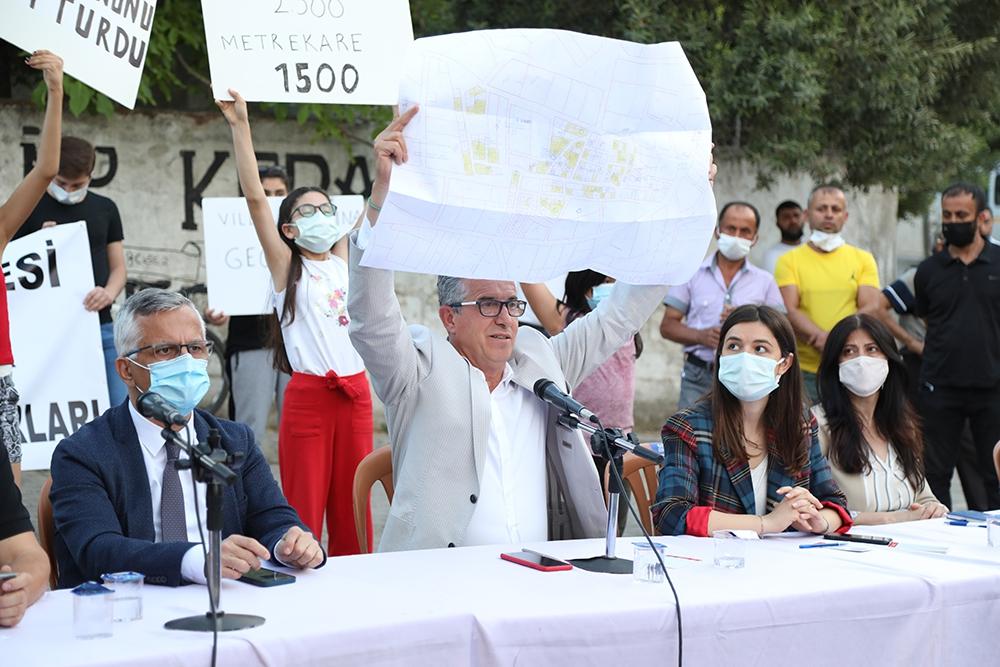 Başkan Arda: Yasa değişikliğiyle Sarnıç'ın tapu sorunu çözülür