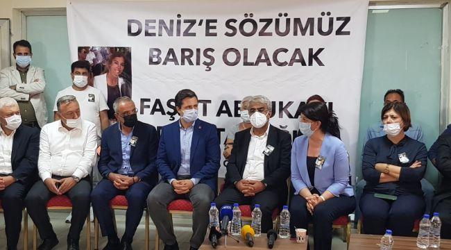 CHP heyetinden HDP'ye taziye ziyareti