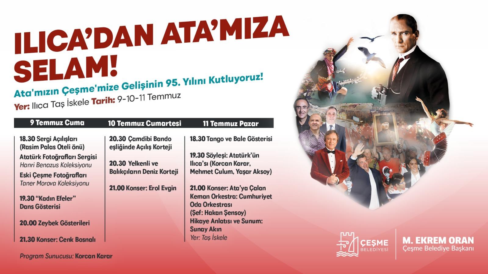 Ilıca'dan Ata'mıza selam!