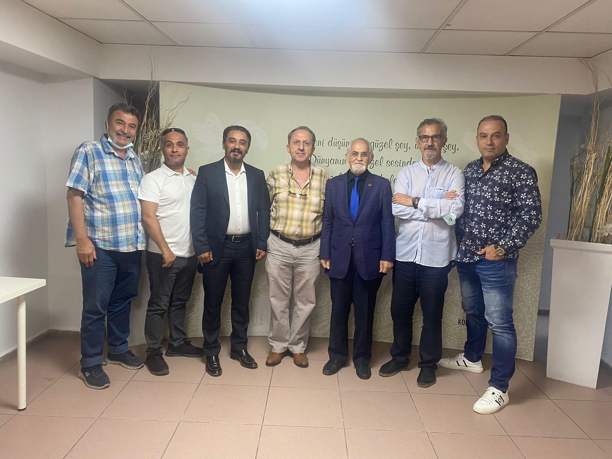 İYGMD'de Muzaffer Tezel Güven Tazeledi