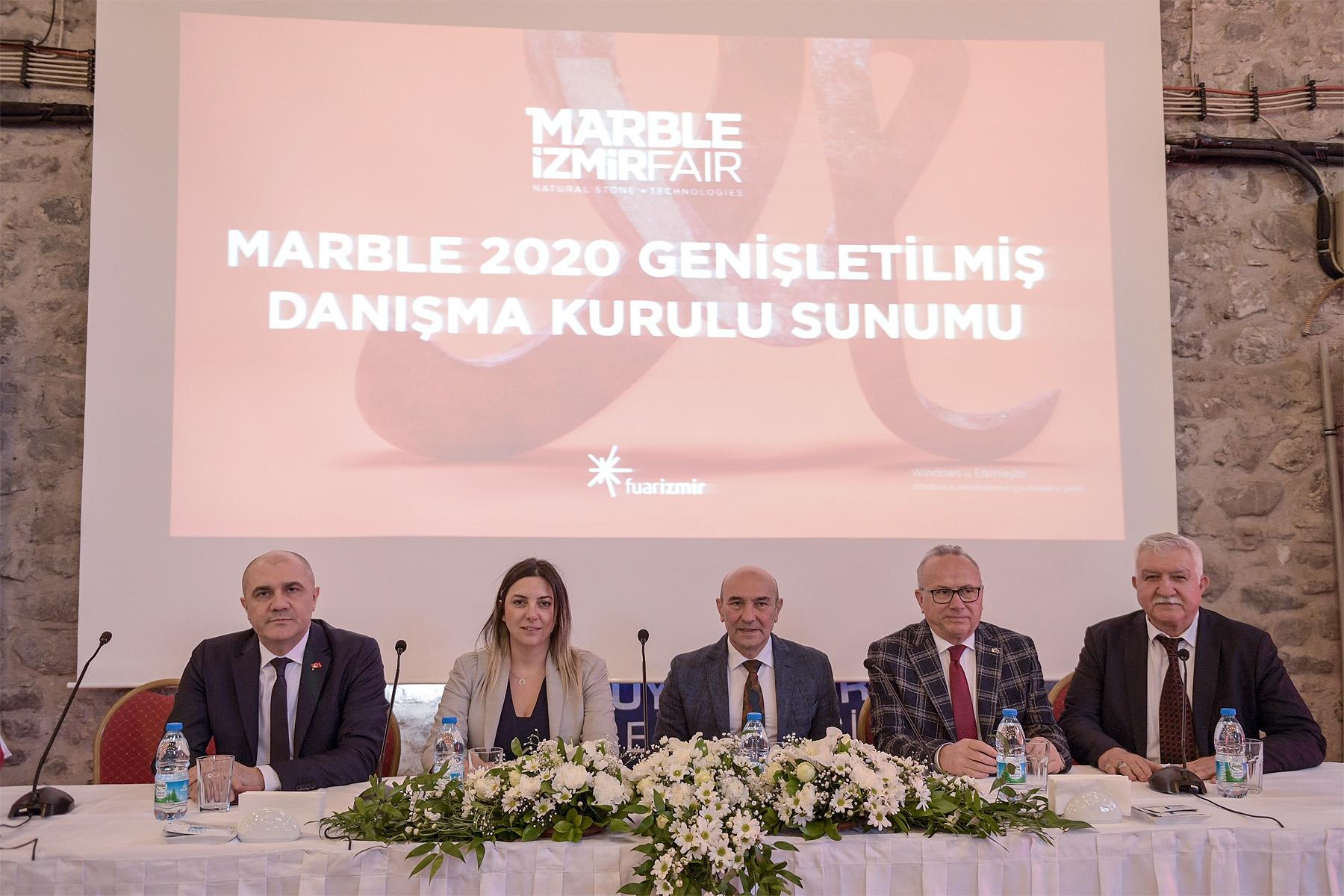 Marble İzmir fuarı belirsiz