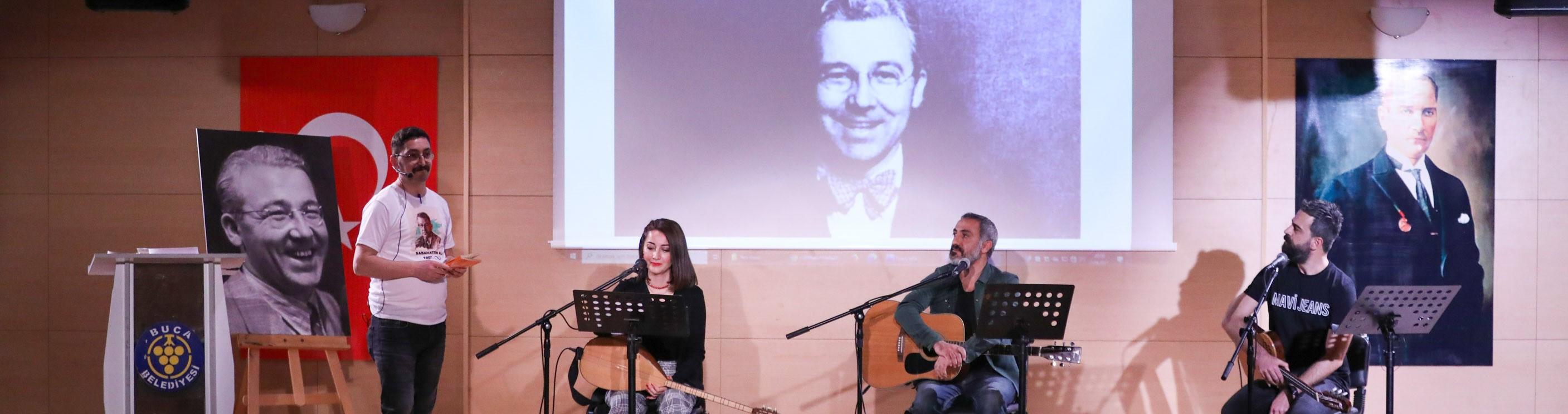 Sabahattin Ali'nin eserleri Buca'da seslendirildi