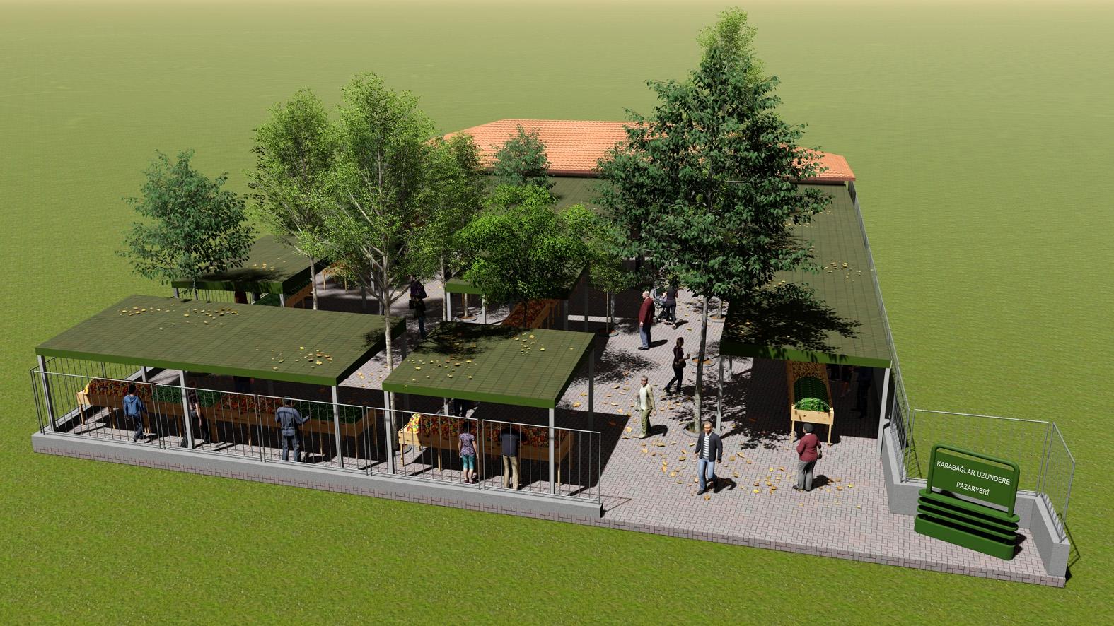 Uzundere Meydan Projesi başlıyor